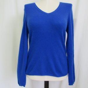 Charter Club Blue Cashmere Sweater Women's L